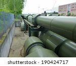 district heating pipe in...