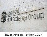 london  uk   sep 27  london... | Shutterstock . vector #190542227