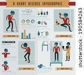 A heart disease info graphic