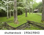 A Historic Log Cabin Shed...