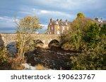 old bushmills village  bridge...   Shutterstock . vector #190623767