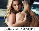 Stock photo kissing couple portrait 190630043