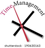 time clock measure time... | Shutterstock . vector #190630163