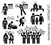 worker employee income salary... | Shutterstock . vector #190706717