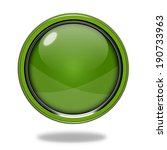 green circular button on white... | Shutterstock . vector #190733963