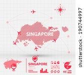 map infographic | Shutterstock .eps vector #190744997