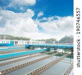 modern urban wastewater... | Shutterstock . vector #190746557