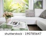 relax in living room | Shutterstock . vector #190785647