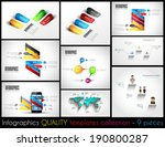collection of 9 quality... | Shutterstock .eps vector #190800287