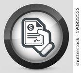 payment document | Shutterstock .eps vector #190822523