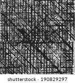 grunge stripe. vector... | Shutterstock .eps vector #190829297