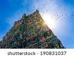 meenakshi hindu temple in...   Shutterstock . vector #190831037