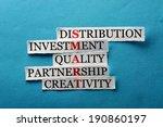 smart  acronym in business... | Shutterstock . vector #190860197