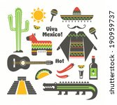 alligator,america,aztec,cactus,chili,city,country,crocodile,culture,drink,element,fiesta,food,guitar,hat