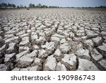 Dried Earth Because Of Rain...