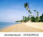 the beach.island in thailand | Shutterstock . vector #191029013