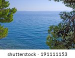 View On Sea With Natural Frame