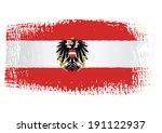 brushstroke flag austria with...   Shutterstock .eps vector #191122937