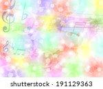 music note music | Shutterstock .eps vector #191129363