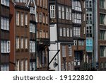 view of houses in downtown... | Shutterstock . vector #19122820