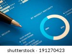 a close up of a business annual ... | Shutterstock . vector #191270423