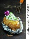 Foil Baked Jacket Potato Serve...