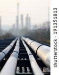 crude oil pipeline and oil ... | Shutterstock . vector #191351813