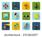 set of 12 square icons with...