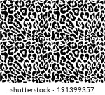 Animal print seamless vector pattern - stock vector