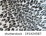 leopard prints on woven textile  | Shutterstock . vector #191424587