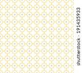 traditional quatrefoil lattice... | Shutterstock .eps vector #191435933