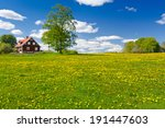 Swedish Farm In May