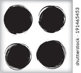 grunge circles | Shutterstock .eps vector #191465453