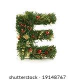nice christmas alphabet | Shutterstock . vector #19148767