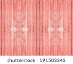 Old Wooden Planks Painted With...