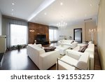 interior of a modern spacious... | Shutterstock . vector #191553257