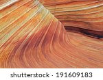 unique sandstone texture in the ... | Shutterstock . vector #191609183