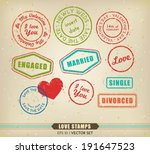 vector collection of various... | Shutterstock .eps vector #191647523