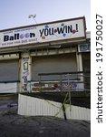 seaside heights  nj   january 6 ...   Shutterstock . vector #191750027