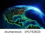 land area in north america the... | Shutterstock . vector #191752823