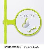 bookmark  sticker  label  tag ... | Shutterstock .eps vector #191781623