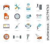 auto mechanic car service... | Shutterstock . vector #191794763