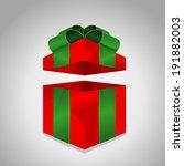 red gift | Shutterstock .eps vector #191882003