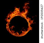Ring Of Fire In Black...