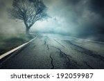 creepy street | Shutterstock . vector #192059987