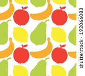 seamless pattern with... | Shutterstock . vector #192066083