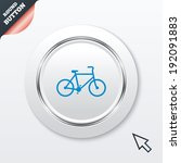 bicycle sign icon. eco delivery....