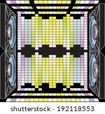 musical columns and dynamic...   Shutterstock .eps vector #192118553