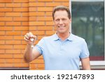 starting a new life. handsome...   Shutterstock . vector #192147893