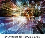 city lights series. design... | Shutterstock . vector #192161783